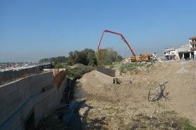 Κατασκευή οδού Καράγιωργα, Τεχνικού Τ1 & οδού Αεροδρομίου