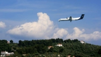 Construction of the Airport of Skiathos
